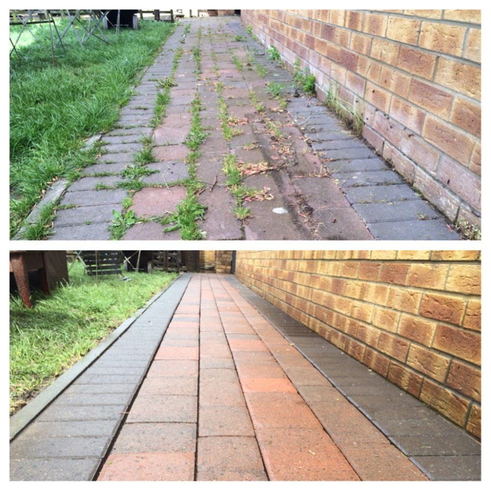 Power Wash and Sealing Service - Professional Block Paving